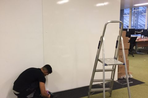 office whiteboard walls leeds